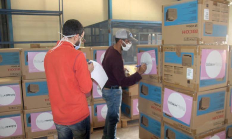 L'opération «Ordinateur pour tous» bénéficie à 300 enfants issus de familles démunies