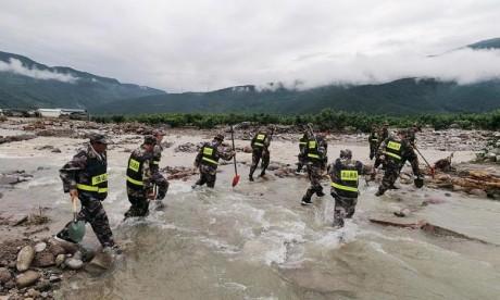 Des pluies torrentielles font au moins 12 morts en Chine