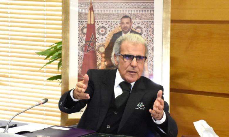 Abdellatif Jouahri, gouverneur de Bank Al-Maghrib (BAM), a présidé le 16 juin à Rabat, a deuxième réunion trimestrielle de l'année 2020 du conseil de BAM.