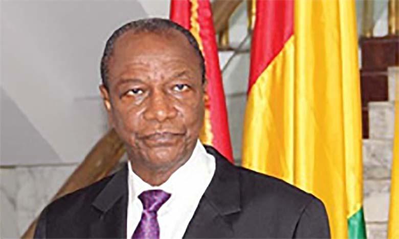 Le Président guinéen salue l'Initiative Royale et exprime son «grand respect» pour le Souverain