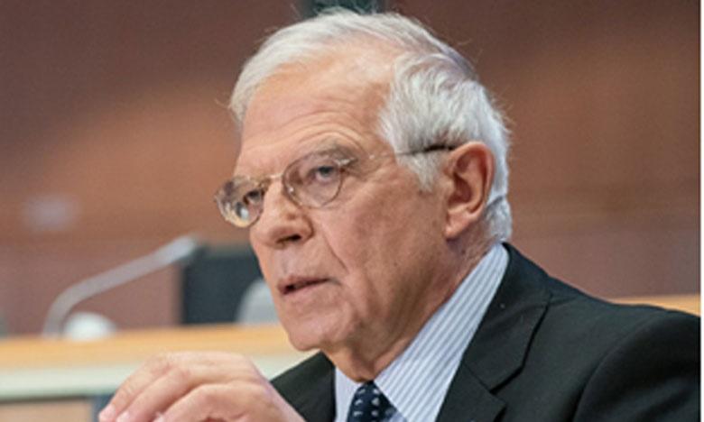 Josep Borrell Fontelles, Haut représentant de l'Union pour les Affaires étrangères et la politique de sécurité.