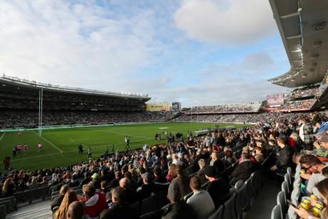 Rugby: Retour massif du public après la réouverture des stades en Nouvelle-Zélande