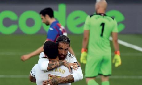 Le Real Madrid répond au Barça