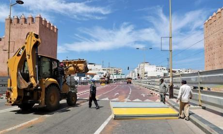 Tramway Rabat-Salé: Suspension de la circulation entre les stations Médina Rabat et Place de Russie dès demain