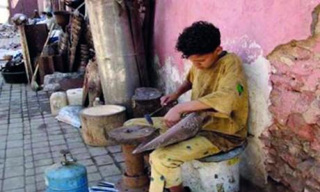 Le travail des enfants a baissé de 23,5% en 2019