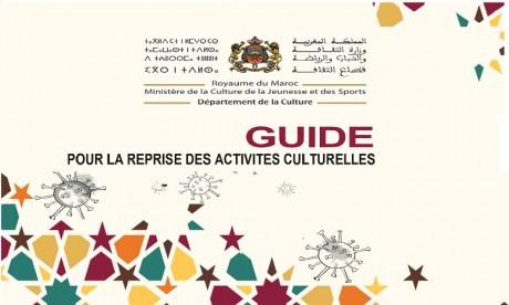 Covid-19 : Publication d'un guide pour la reprise des activités culturelles
