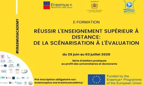 L'Erasmus Academy lance jeudi sa 1re e-formation sur le thème de l'enseignement à distance