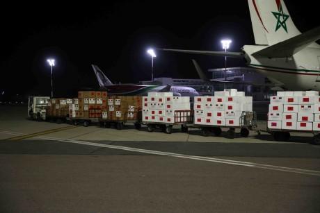 Arrivée à N'Djaména de l'aide médicale marocaine destinée au Tchad