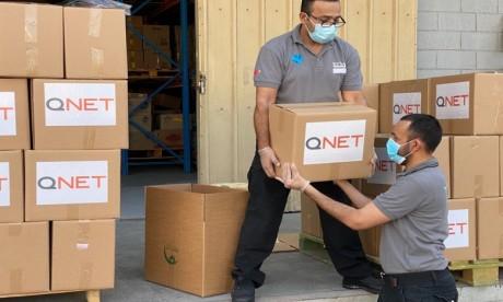 QNET : engagement social envers les démunies dans la région MENA