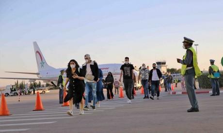 30 vols pour le rapatriement de 4.644 Marocains bloqués dans 17 pays, entre les 21 et 27 juin