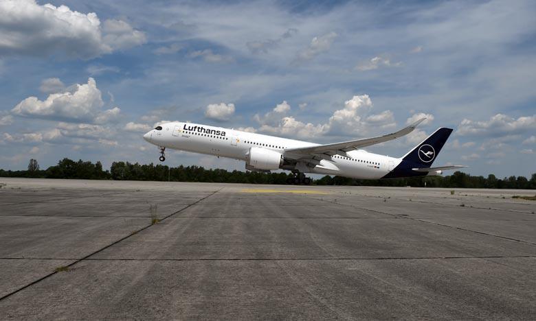 Le plan d'aide allemand, qui porte sur un total de 9 milliards d'euros, prévoit le retour à hauteur de 20% de l'Etat dans le capital de Lufthansa. Ph : AFP