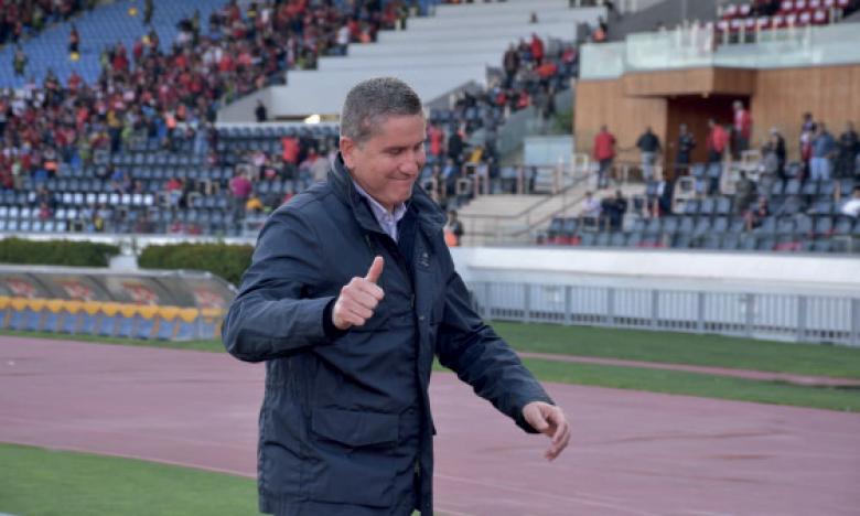 Juan Carlos Garrido compte bien mener la saison à bout avec les Rouges
