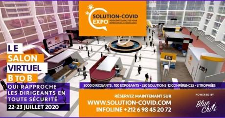 Blue Chili lance le salon Solution-Covid Expo
