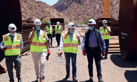 Le projet de station de Abdelmoumen réalisé à 40%