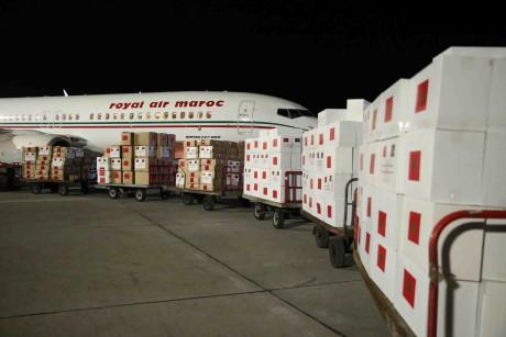 Arrivée à Mbabane de l'aide médicale marocaine destinée au Royaume d'Eswatini