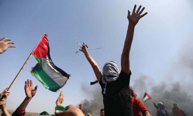 Manifestations contre le projet d'annexion israélien