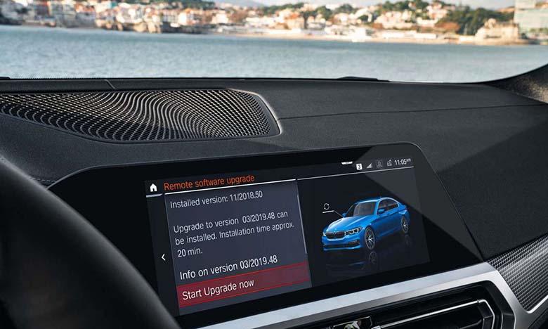 BMW lance une campagne mondiale de mise à jour logicielle