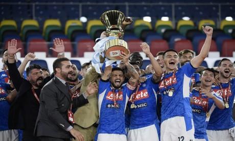 Football: Naples arrache la Coupe d'Italie pour la 6e fois de son histoire
