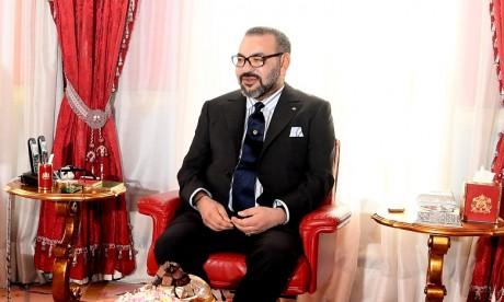 Le Sultan d'Oman présente à Sa Majesté le Roi Mohammed VI ses souhaits d'un prompt rétablissement
