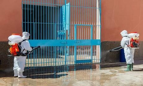 Covid-19 : Les établissements pénitentiaires désormais indemnes
