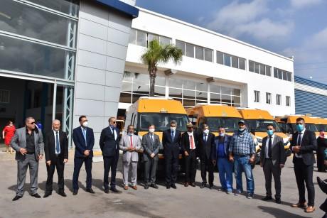 Conseil préfectoral de Casablanca : Livraison de 25 bus pour le soutien du préscolaire