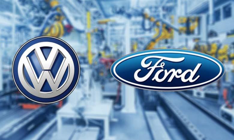 L'alliance Volkswagen-Ford approuve de nouveaux projets