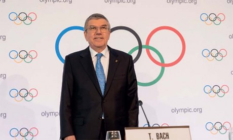 Le président du CIO demande  aux athlètes de manifester «dans la dignité»