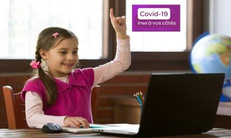 Inwi offre aux élèves l'accès gratuit à la plateforme «TelmidTICE»