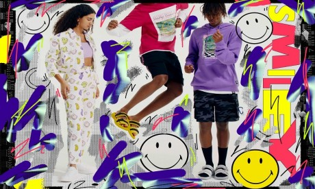 Pull&Bear et Smiley Originals unis le temps d'une collection capsule streetwear en édition limitée
