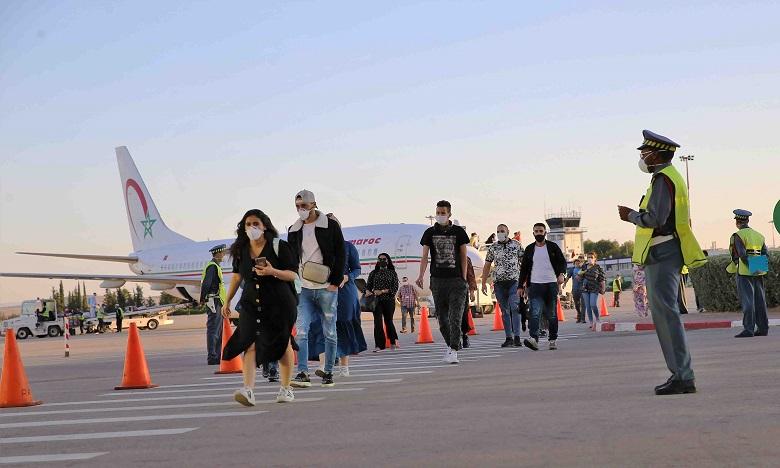 Covid-19: 175 Marocains rapatriés depuis la Belgique
