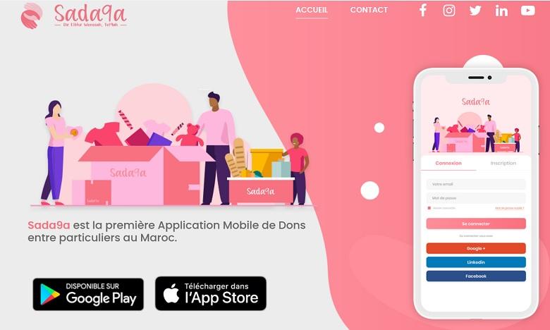 Sada9a, une appli de dons entre particuliers, voit le jour au Maroc