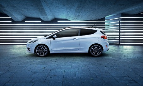 Ford présente la première Fiesta à hybridation légère