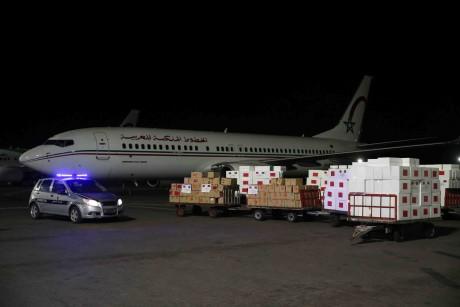 Arrivée à Brazzaville de l'aide médicale marocaine destinée à la République du Congo