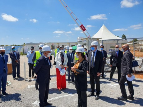 Sécurité sanitaire dans les chantiers : Nouzha Bouchareb effectue une visite de terrain à Salé