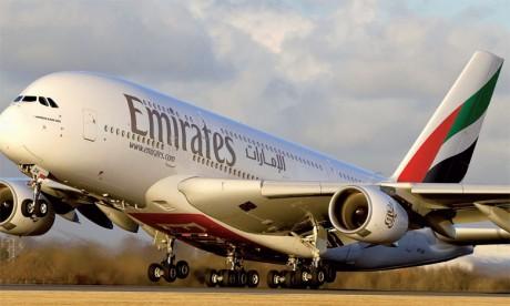 Emirates porte à 40 le nombre de destinations desservies via Dubaï