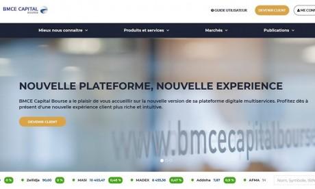 BMCE Capital Bourse lance une nouvelle version de sa plateforme de bourse en ligne
