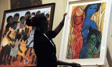 Des œuvres mises aux enchères à Casablanca et à Paris