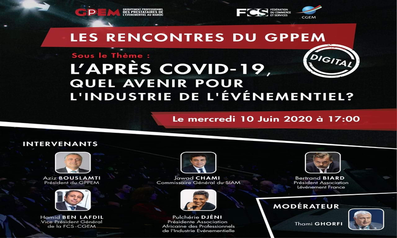 GPPEM : Quel avenir pour l'industrie de l'événementiel après la pandémie ?