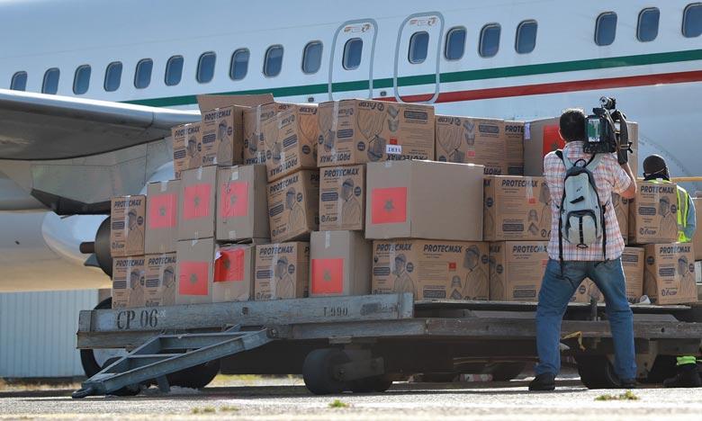 Arrivée à Addis-Abeba de l'aide médicale marocaine destinée à la Commission de l'Union africaine