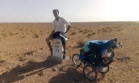 «À travers ce voyage, j'ai voulu montrer la différence entre les grandes villes et le monde rural au Maroc»