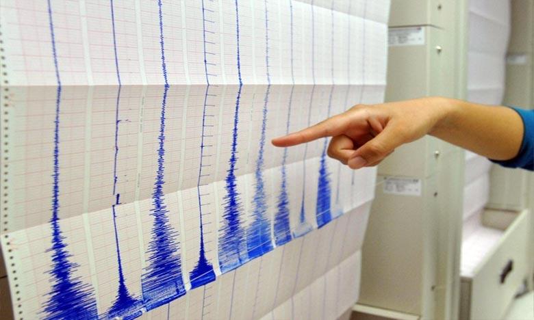 L'épicentre du séisme est situé à une profondeur de 10 km Ph : AFP