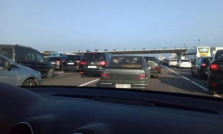 La circulation sur la route régionale  Lakhlalfa-Issaguen interrompue