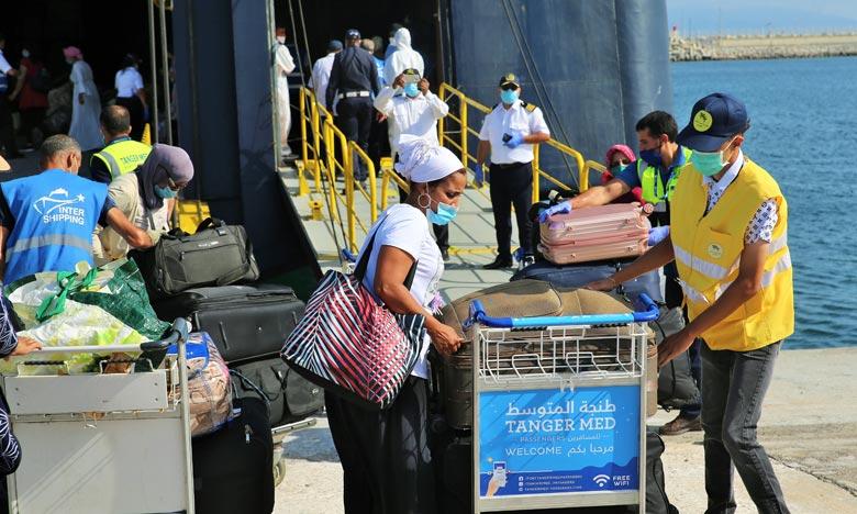 Tous les moyens logistiques et humains nécessaires ont été mis en place pour la réussite de cette opération tout en respectant les mesures sanitaires en vigueur. Ph : MAP