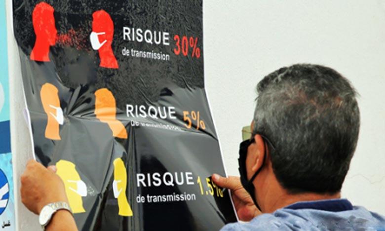 A travers le lancement d'une campagne de sensibilisation sur les risques du nouveau Covid-19, un certain nombre de mesures annoncé, visant à limiter les déplacements des employés hors  Tanger pendant l'Aïd Al-Adha. Ph : MAP-Archives
