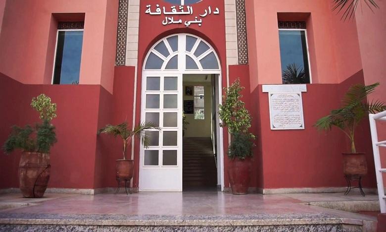 La Maison de la culture de Béni Mellal reprend ses activités