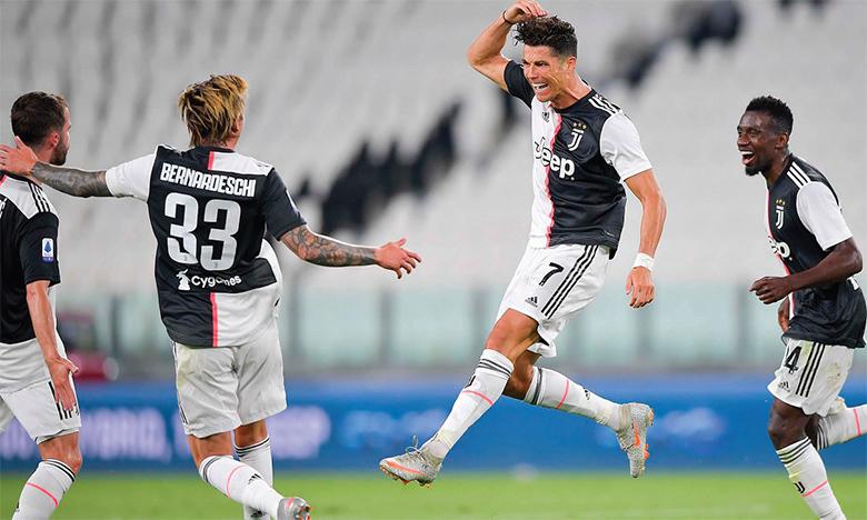 Avec 31 buts au compteur, Ronaldo a largement participé au sacre de la Veille Dame.