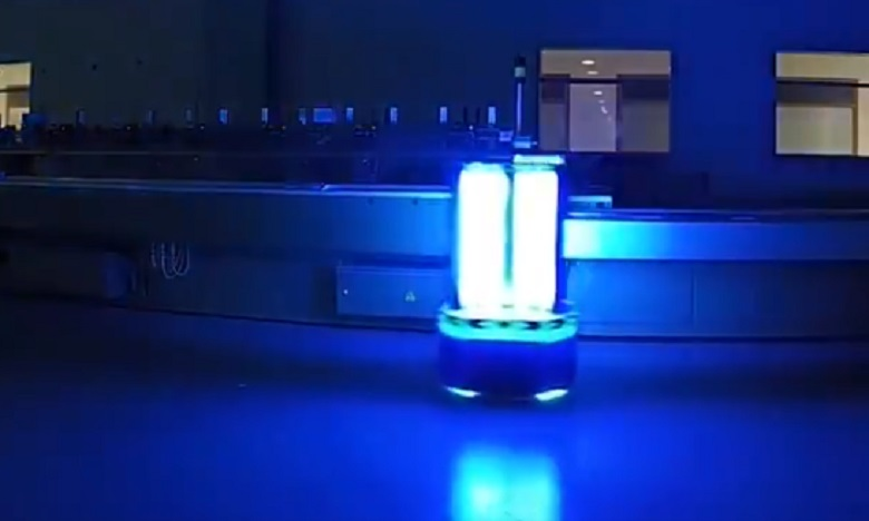 Un Robot UV made in Bahreïn pour neutraliser le coronavirus !