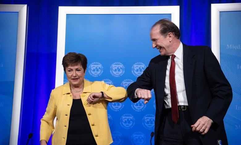 Les assemblées annuelles 2020 du FMI et de la Banque mondiale auront lieu dans la semaine du 12 au 18 octobre. Ph : AFP