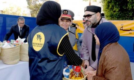 «La solidarité, le dévouement et la citoyenneté sont des valeurs constantes de la Vision de S.M. le Roi Mohammed VI pour le développement du Maroc»