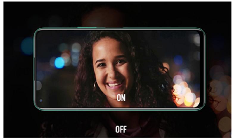 Capture vidéo prise par la caméra low light du Note 7